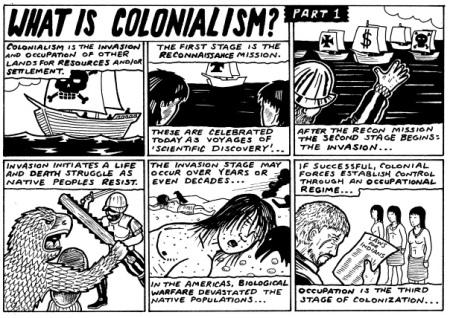 Colonialism Comic 1
