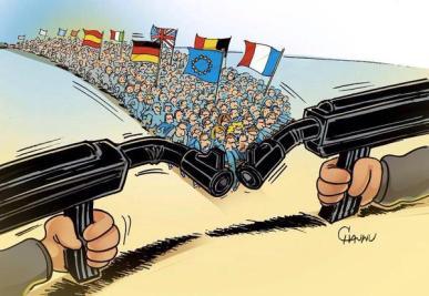 "(image postée sur un tweet ""JeSuisCharlie"")"